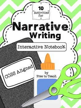Narrative Writing Interactive Notebook Activities