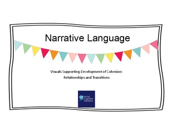 Narrative Language: Visuals Supporting Development of Cohesion