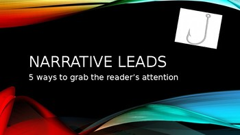 Narrative Leads Powerpoint