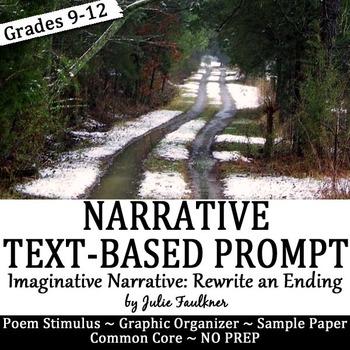 Imaginative Winter Narrative Writing with Text-Based Stimuli & Sample Essay