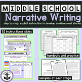Middle School Narrative Writing: Narrative Moments Alive