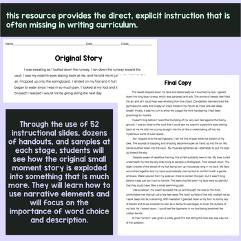 Middle School Narrative Writing