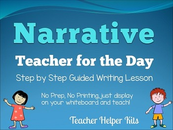 Personal Narrative Writing-Teacher for the Day-2nd and 3rd