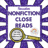 Narrative Nonfiction Close Reads for Any Passage