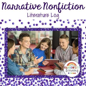 Narrative Nonfiction Reading Response Journal