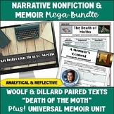 Narrative Nonfiction & Memoir Unit Bundle: Short Story & Novel Activities