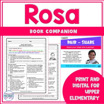 Narrative Nonfiction - Rosa (Nikki Giovanni)