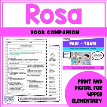 Rosa Book Companion | Main Idea and Theme