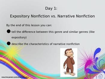 Narrative Nonfiction Unit