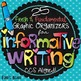 Writing Graphic Organizers Bundle - Narrative, Opinion, Informational