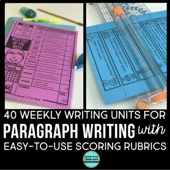 PARAGRAPH OF THE WEEK | How to Write a Paragraph | WRITING PAPER & DIGITAL