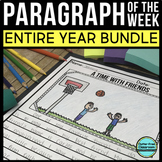 Paragraph of the Week | 76 Paragraph Writing Activities |  FREE Digital Version