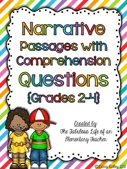 Reading Test Prep 4 (Grades 2-4)