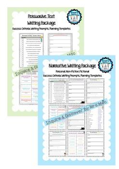 NAPLAN Narrative & Persuasive Text Pack