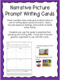 Narrative Picture Prompt Writing Cards