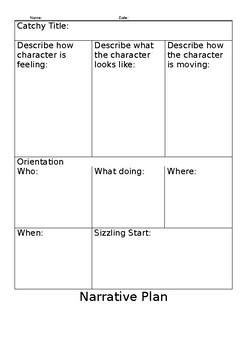 Narrative Plan - In depth