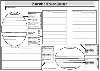 Narrative Planner and Introduction to Paragraphing for Lower/Middle Years PS