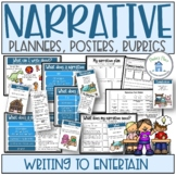 Narrative Planners Posters Rubrics