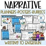 Narrative Planners Posters Rubrics