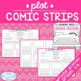 Narrative Writing Plot Comic Strips-School Edition