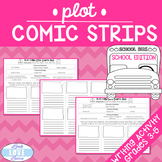 Narrative Writing Plot Comic Strips-School Edition