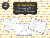 Narrative Plot Development Activities and Prompts
