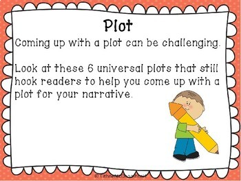 Narrative Plot Mini Lesson
