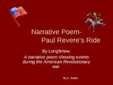Narrative Poem-Paul Revere's Ride-powerpoint