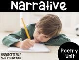 Narrative Poetry {Poetry Unit}