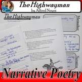 Narrative Poetry The Highwayman by Alfred Noyes