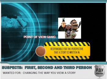 POINT OF VIEW ADVENTURE MYSTERY - Interactive Powerpoint A