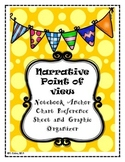 Narrative Point of View Notebook Anchor Chart and Graphic Organizer