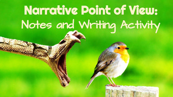 Narrative Point of View: Notes and Writing Activity