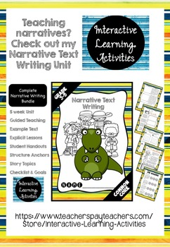 Narrative Poster: Support for Independent Writing