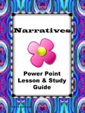 Narrative Power Point Lesson & Study Guide
