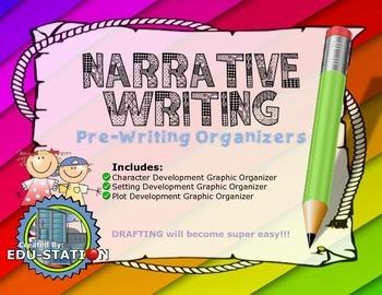 Narrative Writing (Pre-Writing Organizers)