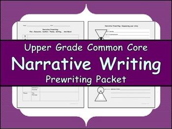 Narrative Prewriting Packet