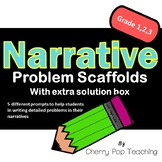 Narrative Problem Scaffolding with Solution
