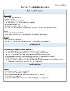 Narrative Prompt Outline Questions