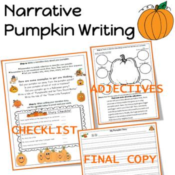 Narrative Pumpkin Writing