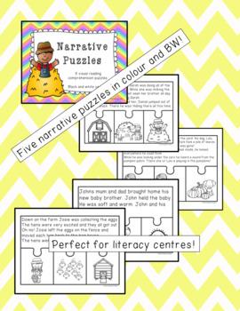 Narrative Puzzles Set 1