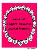 Narrative Readers' Response Journal Prompts (Application/A
