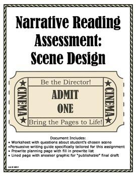 Narrative Reading Assessment: Scene Design