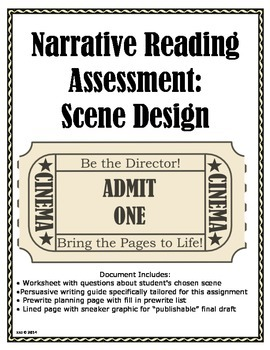 Narrative Reading Assessment: Scene Design