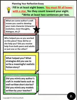 Narrative Reflection PDF or Google Slides