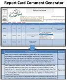 Narrative Report Card Comment Generator - Demo Version