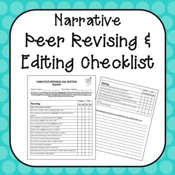checklist for narrative essay Parts of a narrative essay ahava leibtag39s valuable content checklist parts of a narrative essay click here academic writing is considered successful.