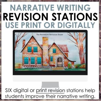 Narrative Writing Revision Stations for Grades 6-10