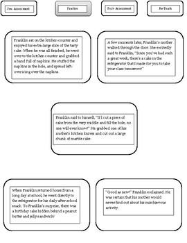 Narrative Sequencing Practice- Plot