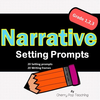 Narrative Setting Prompt Cards, Writing Frames